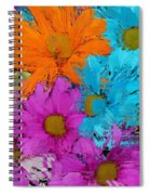 All The Flower Petals In This World 2 Spiral Notebook