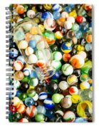 All The Marbles Spiral Notebook