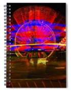 All The Rides Moving At Once Spiral Notebook