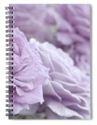 All The Soft Violet Roses Spiral Notebook