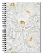 All The White Roses  Spiral Notebook