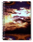 All The Wild Clouds Spiral Notebook