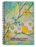 All Things Bright And Beautiful Spiral Notebook
