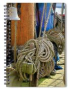 All Tied Up Spiral Notebook