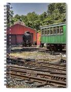 Allaire Rail Yard Spiral Notebook
