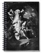 Allegory Of Africa Spiral Notebook