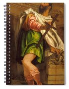 Allegory Of Navigation With A Cross-staff Spiral Notebook