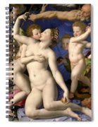 Allegory Of The Triumph Of Venus Spiral Notebook