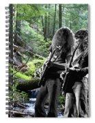 Allen And Steve On Mt. Spokane 2 Spiral Notebook
