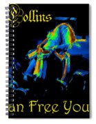 A C Can Free Your Bird Spiral Notebook