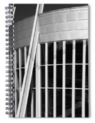 Allen County Museum Black And White Spiral Notebook