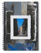 Alley 3rd Ward And Abstract Spiral Notebook