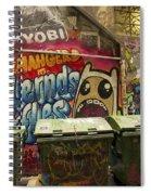 Alley Graffiti Spiral Notebook