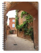 Alley In Roussillion Spiral Notebook