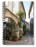 Alley In The Procence Spiral Notebook