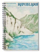 Alley Of Sioule Spiral Notebook
