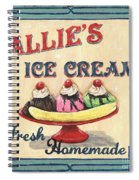 Allie's Ice Cream Spiral Notebook