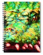 Alligator 20130702 Spiral Notebook