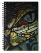 Alligator Eye Spiral Notebook