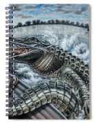 Alligator Hunt Spiral Notebook