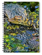 Alligator Mother's Day Spiral Notebook