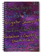 Alligator Sausage For Five Dollars 20130610 Spiral Notebook