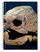 Alligator Snapping Turtle Spiral Notebook