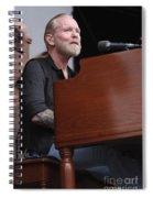 Allman Brothers Band - Gregg Allman Spiral Notebook