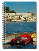 Alls Quiet In The Harbor Spiral Notebook