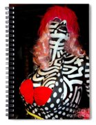Alluringly Abstract Spiral Notebook