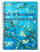 Almond Blossom Branches Spiral Notebook