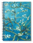 Almond Blossom Branches Print Spiral Notebook