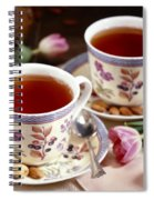 Almond Tea For Two Spiral Notebook