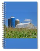 Almost Harvest Time Spiral Notebook