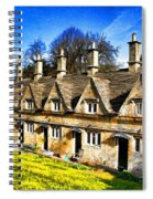 Almshouses Spiral Notebook