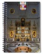 Almudena Cathedral Altar Spiral Notebook