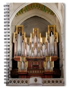 Almudena Cathedral Organ Spiral Notebook