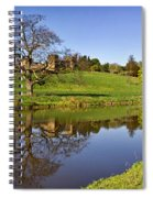 Alnwick Castle Panorama Spiral Notebook