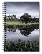 Alnwick Castle Sunset Spiral Notebook