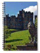 Alnwick Lion Spiral Notebook
