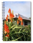 Aloe Vera And Tin Roof Plantation House Spiral Notebook