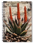 Aloe Vera At The Arboretum Spiral Notebook