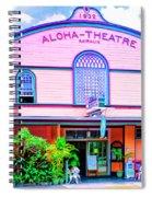 Aloha Theatre Kona Spiral Notebook