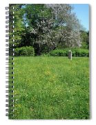 Alone In A Field Of Buttercups Spiral Notebook