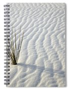 Alone In A Sea Of White Spiral Notebook