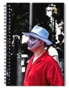 Alone Stranger Spiral Notebook