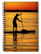 Alone With The Sun Spiral Notebook