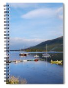 Along Loch Leven 2 Spiral Notebook