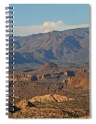 Along The Apache Trail Spiral Notebook