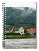 Along The Blue Danube Spiral Notebook